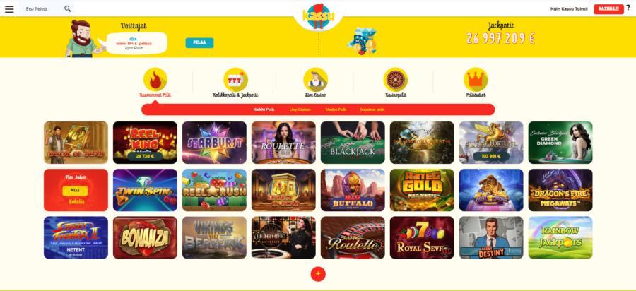 Pelit Kassu Casino