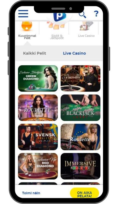 Pelaa Casino mobiili