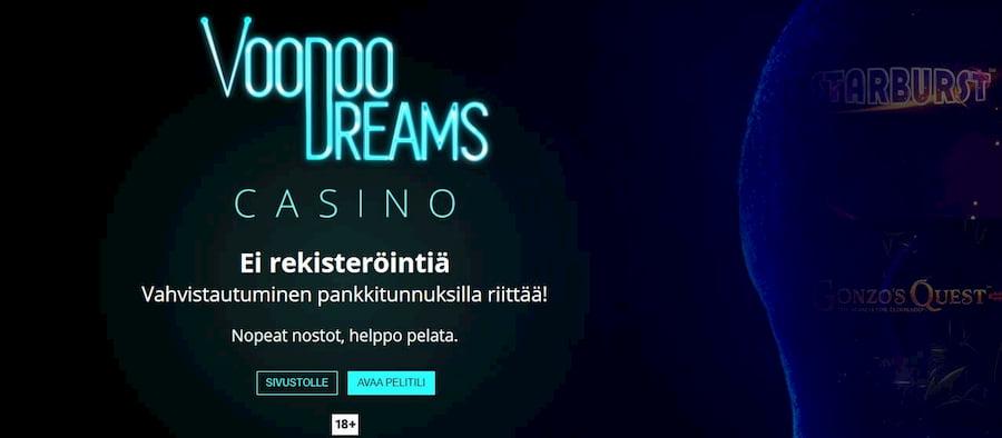 Voodoo Dreams kasinobonus