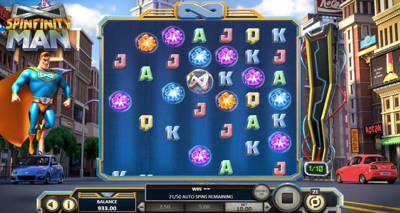 Online-kasino lähtö- ja saapumisajat Spinfinity Man
