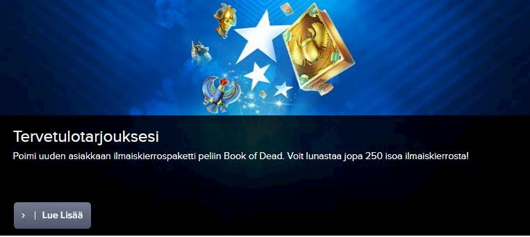 CasinoEuro Bonukset ja muut edut