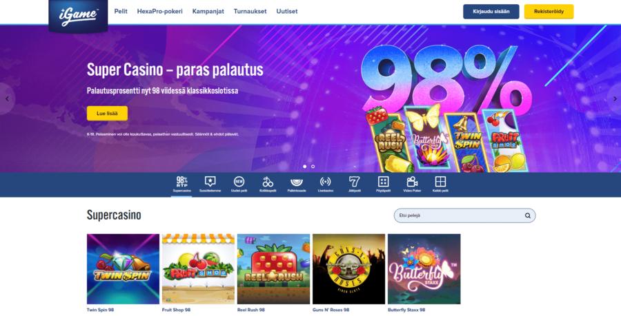 Pelit iGame Casino