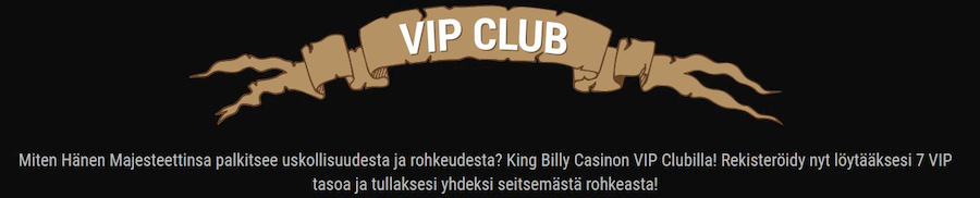 King Billy Bonukset