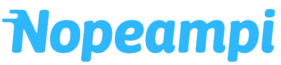 nopeampi logo