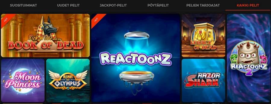 Klirr Casino Pelit