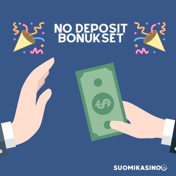 No Deposit bonukset