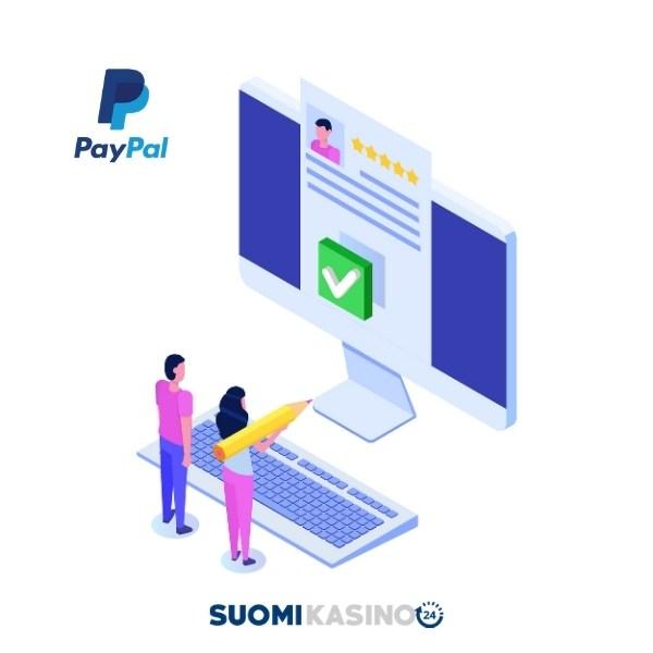 PayPalin käyttäminen nettikasinoilla
